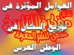 العوامل المؤثرة في توزيع السكان في الوطنالعربي